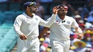 Kohli: Shami 'complete package' as fast bowler