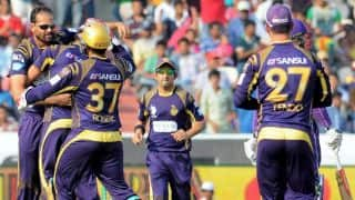 Live Cricket Scorecard, IPL 2015: KKR vs RR, Match 25 at Kolkata