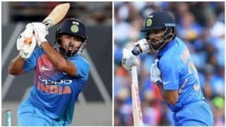Cricket World Cup: Shikhar Dhawan ruled out, Rishabh Pant to replace him