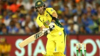 Glenn Maxwell: Australia must master the art of playing spin