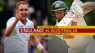 Live Cricket Scorecard: England vs Australia, 5th Test, The Oval, Day 2