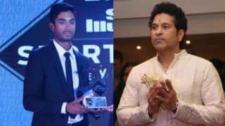CS Santosh draws inspiration from Sachin Tendulkar
