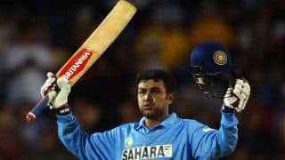 WATCH: Virender Sehwag's first century for India in ODIs