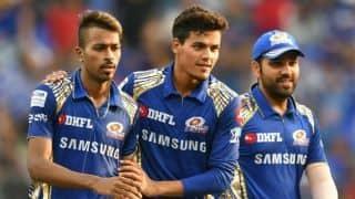 IPL 2018: Hardik Pandya, Jasprit Bumrah deny KKR win; MI's playoffs hope still alive