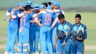 India U-19 beat Sri Lanka U-19 by 8 wickets in 5th Youth ODI, win series 3-2