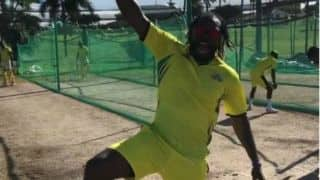 Watch Chris Gayle's 'Punjabi' dance after dismissing Kolkata's Andre Russell