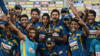 Sri Lankan cricketers to get bonuses for ICC World T20 2014 performances