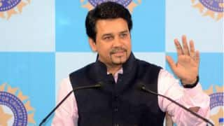 India coach decision to be taken prior to home series against South Africa, says Anurag Thakur