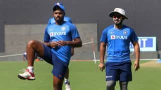 Rishabh Pant gets more chances because he is left-handed : says Sanju Samson's coach Biju George