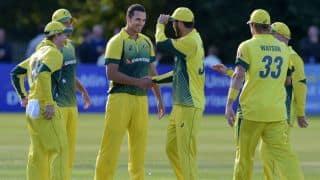 कोलकाता वनडे से पहले ऑस्ट्रेलियाई गेंदबाजों को सता रहा है 'डर'!