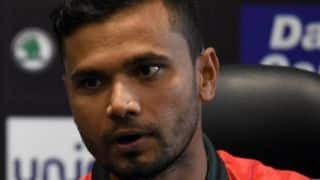 Mashrafe Mortaza 'not sure' about Bangladesh's batting replacements