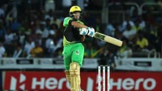 CPL 2018 : Ross Taylor surpasses MS Dhoni on the list of most sixes in T20