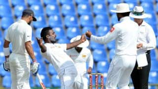India vs Sri Lanka, 3rd Test, Day 1: Lankan spinners stage comeback after visitors' solid start