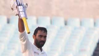 Maharashtra vs Tamil Nadu, Ranji Trophy 2014-15: Karthik's ton puts TN in command