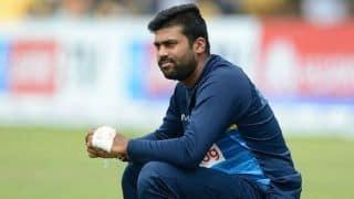 ऑस्ट्रेलिया दौरे से बाहर हुए श्रीलंकाई गेंदबाज लाहिरू कुमारा