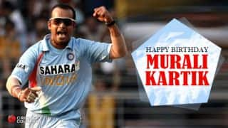Celebrating Murali Kartik's 39th birthday