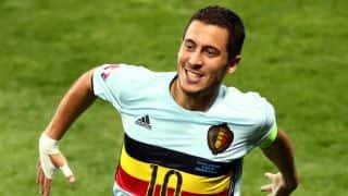 Euro 2016: Eden Hazard, Thomas Vermaelen skip Belgium training