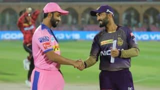 Sudhesan Midhun debuts for Rajasthan as KKR bowl