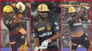 कोलकाता की जीत में चमके रसेल, उथप्पा -राणा की शानदार बल्लेबाजी