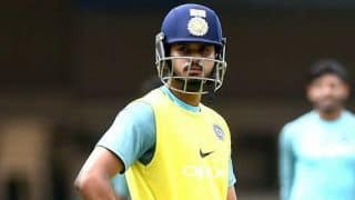 Shreyas Iyer named captain of Mumbai Ranji Trophy squad
