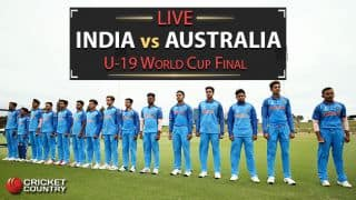 Live Cricket Score, India vs Australia, ICC U-19 World Cup 2018, Final: India win by 8 wickets