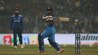 Jadhav's 90-run highlights: India vs England, 3rd ODI