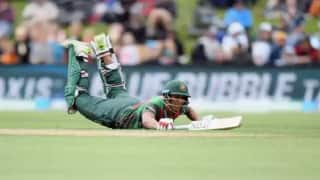 Mohammad Saifuddin's back injury leaves Bangladesh sweating ahead of World Cup