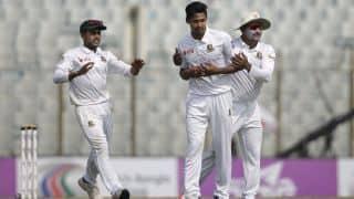 Bangladesh vs Zimbabwe: Hosts close in on 1-1 as Brendan Taylor resists