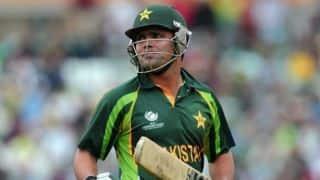 WI vs PAK ICC World Cup 2015: Akmal dismissed on 59
