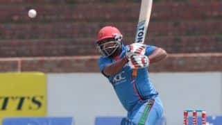 Mohammad Shahzad eclipses Nawroz Mangal for highest score by an Afghanistan batsman in ODIs