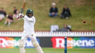 Bangladesh vs New Zealand, 1st Test: Mominul Haque provides resistance for visitor's as rain plays hide and seek at tea