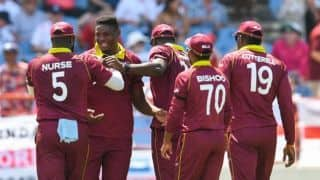 5th ODI: Thomas takes 5/21 as West Indies skittle England for 113