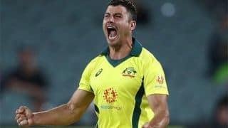 We're all bloody tired: Marcus Stoinis after Australia's win