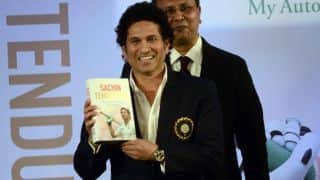 Sachin Tendulkar thanks fans after winning Crossword Book Awards