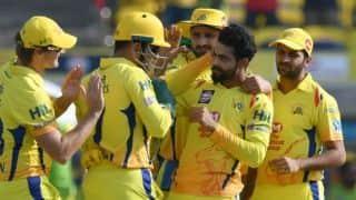 IPL 2018: Ravindra Jadeja, Harbhajan Singh spin web around RCB; CSK need 128