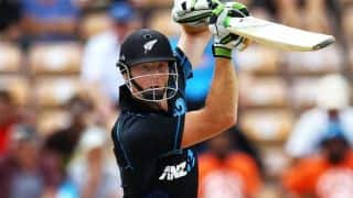 India tour of New Zealand, 3rd ODI at Auckland: New Zealand 57/1 in 10 overs