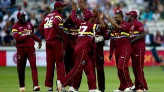 West Indies steamroll ICC World XI, win by 72 runs