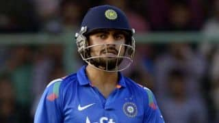 India vs Sri Lanka, 5th ODI at Ranchi: Virat Kohli scores 1,000 runs in ODIs in 2014