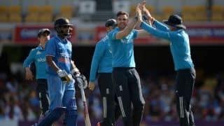 India register lowest ODI score against England