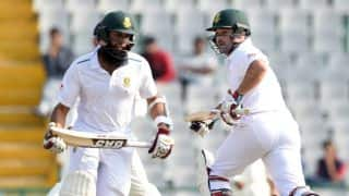 South Africa vs Australia, 3rd Test: Dean Elgar, Hashim Amla steady hosts after early wicket before lunch