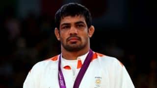 Harbhajan Singh congratulates wrestler Sushil Kumar for CWG 2014 gold medal