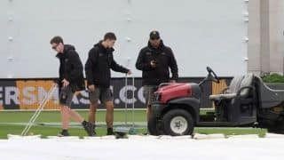 Rain washes away second straight day of Wellington Test