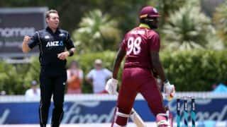 New Zealand vs West Indies, 1st ODI: Jason Holder rues lack of runs