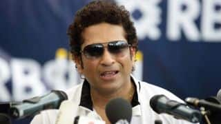 Sachin Tendulkar felicitates Commonwealth Games' medal winners in SAI function