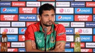 Mashrafe Mortaza: We'll go to ireland with World cup team, Dunedin ODI is our last match before ICC tournament