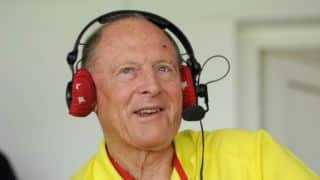 Watch how Geoffrey Boycott's fellow commentator played a prank on him