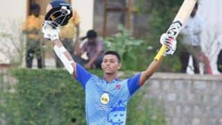 Vijay Hazare Trophy: Yashasvi Jaiswal's splendid double century powers Mumbai to 39-run win over Jharkhand