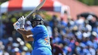 2nd T20I: Rohit, Krunal lift India to 167/5 after Cottrell, Thomas strangle middle order