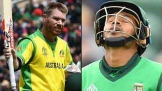 World Cup 2019, AUS vs BAN: David Warner, Usman Khawaja guide Australia to 48 run win against Bangladesh