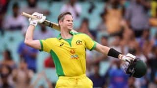2nd ODI in Pics: Smith Century Leads Australia Domination at SCG